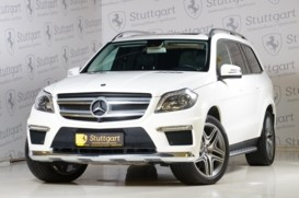 Mercedes-Benz GL 2014 г. (белый)