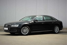 Audi A8 2015 г. (черный)