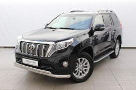Toyota Land Cruiser Prado 2017 г. (черный)