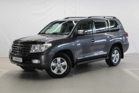 Toyota Land Cruiser 2009 г. (серый)