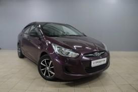 Hyundai Solaris 2011 г. (фиолетовый)