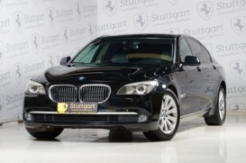 BMW 7er 2008 г. (черный)