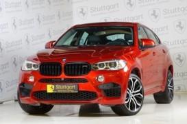 BMW X6 2015 г. (красный)