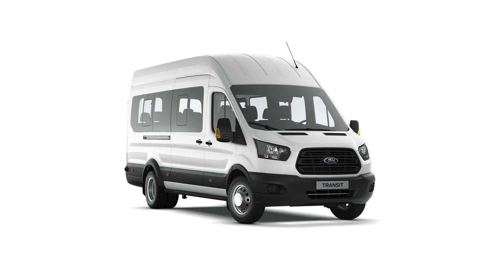 FORD TRANSIT 2.2 TDCI MT (135 л.с.) Маршрутное такси Туристический автобус (17+0+1)
