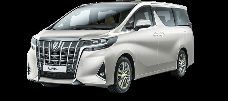 Toyota Alphard Минивэн [[activeColor.Title]]