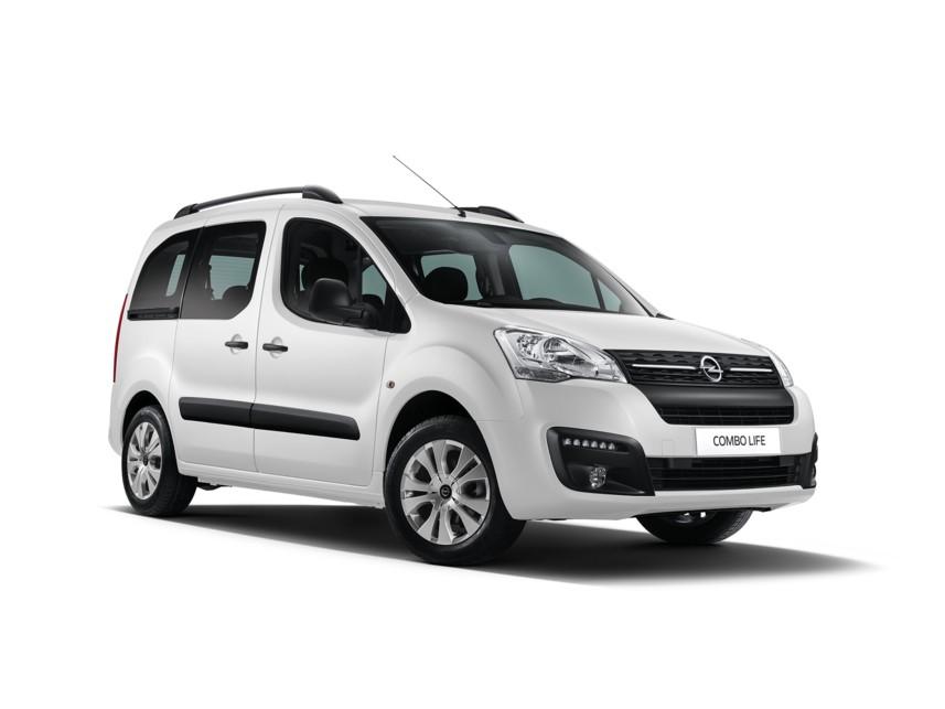 Opel Combo Life Минивэн [[activeColor.Title]]