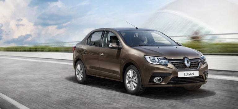 Новый Renault LOGAN от 504 000 рублей*
