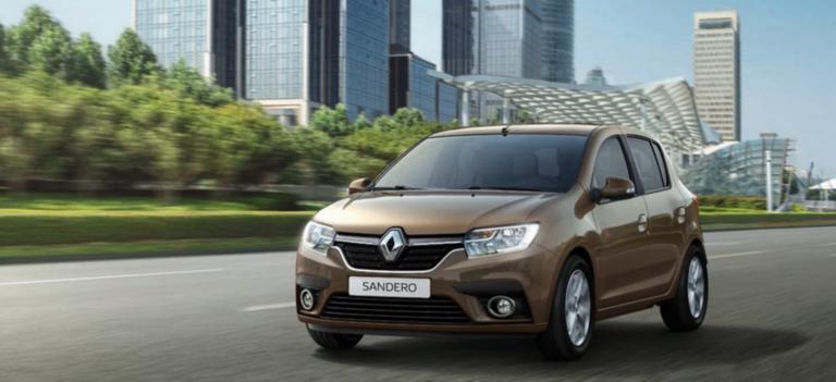 Новый Renault SANDERO от 494 000 рублей*