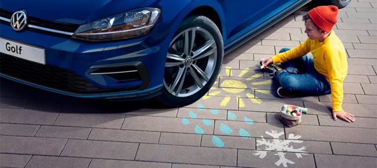 Времена года меняются, качество Volkswagen остается