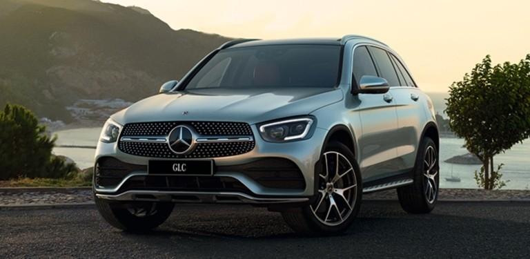 Новый GLC с системой Mercedes me