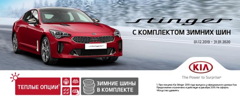 Зимние шины для KIA Stinger