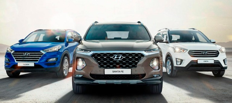 Беспроцентная рассрочка на все модели Hyundai