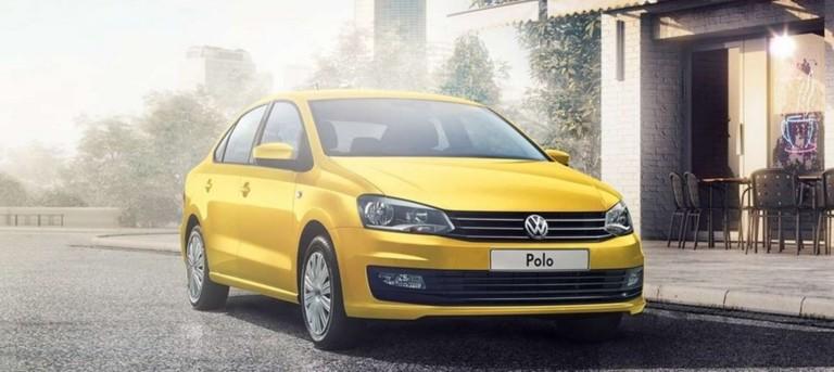 Желтый Polo в лизинг