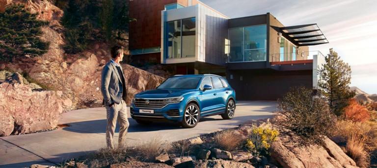 Специальные предложения на  Volkswagen Touareg