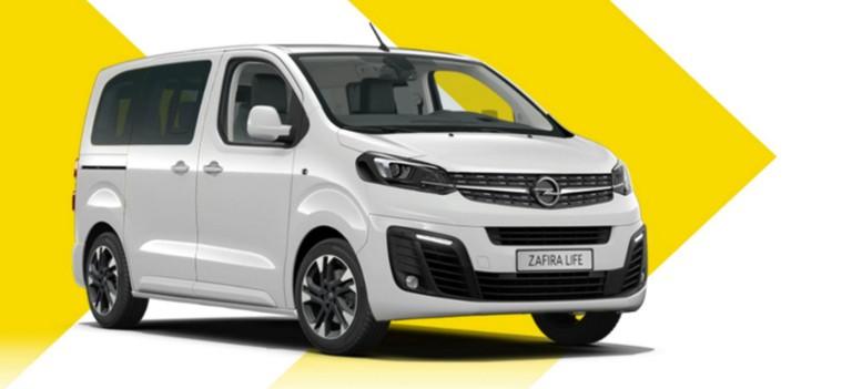 Opel Zafira Life выгодные предложения