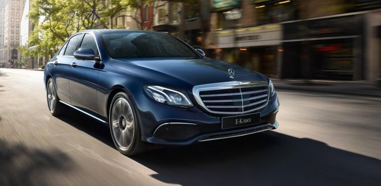 Специальное предложение на новые автомобили «Мерседес-Бенц» в августе