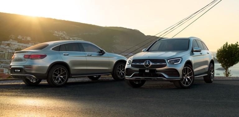 Mercedes-Benz GLC и GLC купе в КЛЮЧАВТО!