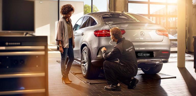 Кузовной ремонт любой сложности в официальном дилерском центре Mercedes-Benz КЛЮЧАВТО