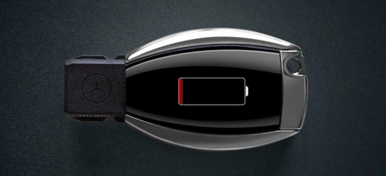 Никаких расходов – новая батарейка в ключах зажигания Вашего Mercedes-Benz
