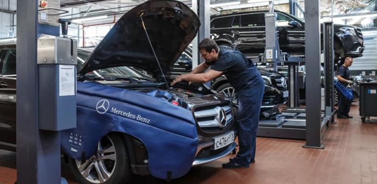 Агрегатный ремонт Mercedes-Benz с преимуществом до 70% на работы!