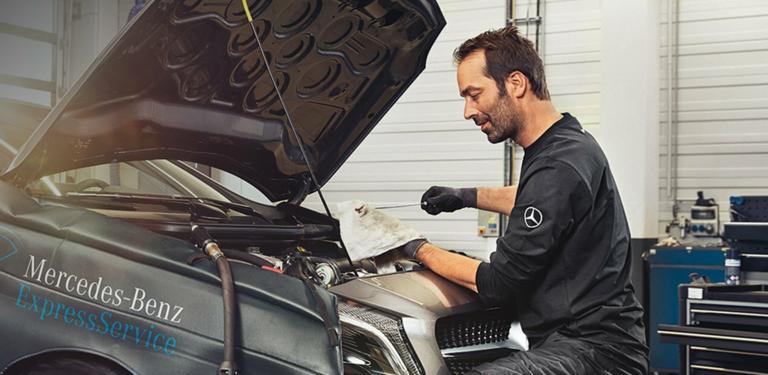 Замена масла в ДВС Вашего Mercedes-Benz от 5 500 р.