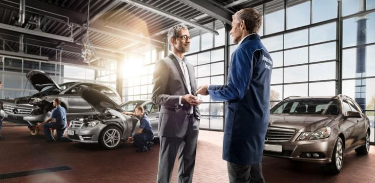Постгарантийное обслуживание Вашего Mercedes-Benz!