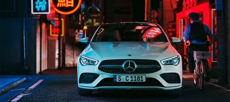 Специальное предложение на Mercedes-benz CLA
