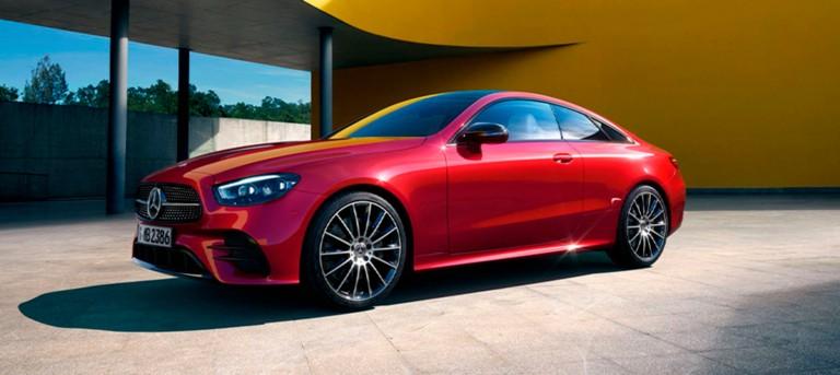 Специальное предложение на новый E-Класс купе